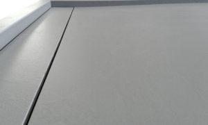 Piatto doccia cm 110 x 110 in Kerlite Materica Cemento