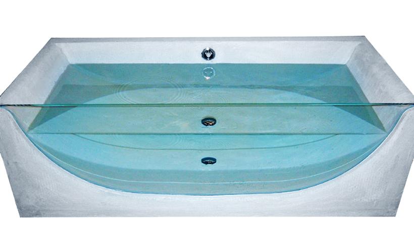 Vasca Da Bagno Vetro : Vasche da bagno u newline srl